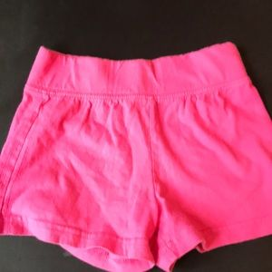 Other - Never worn size 7/8 pink shorts